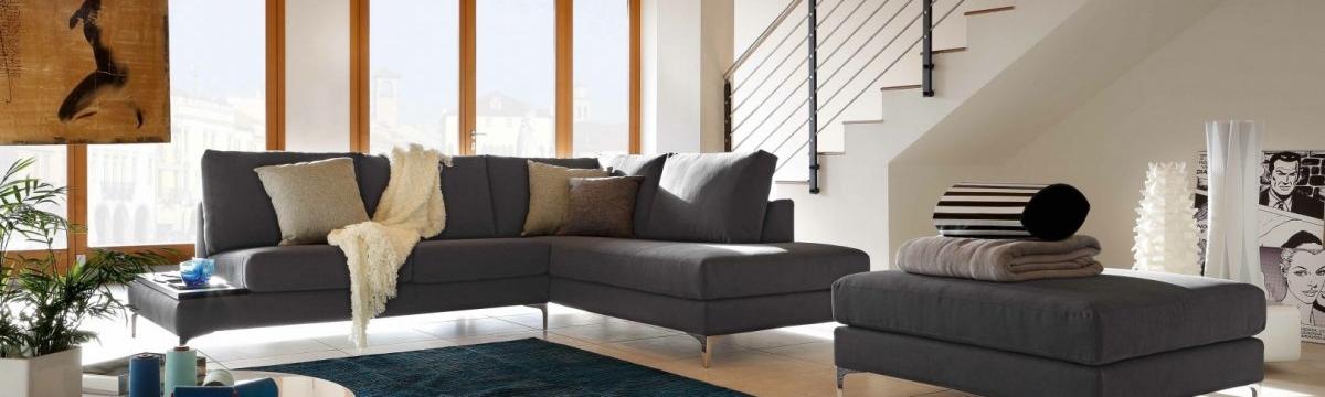 Lecomfort Avatar látková sedačka v rohovom tvare